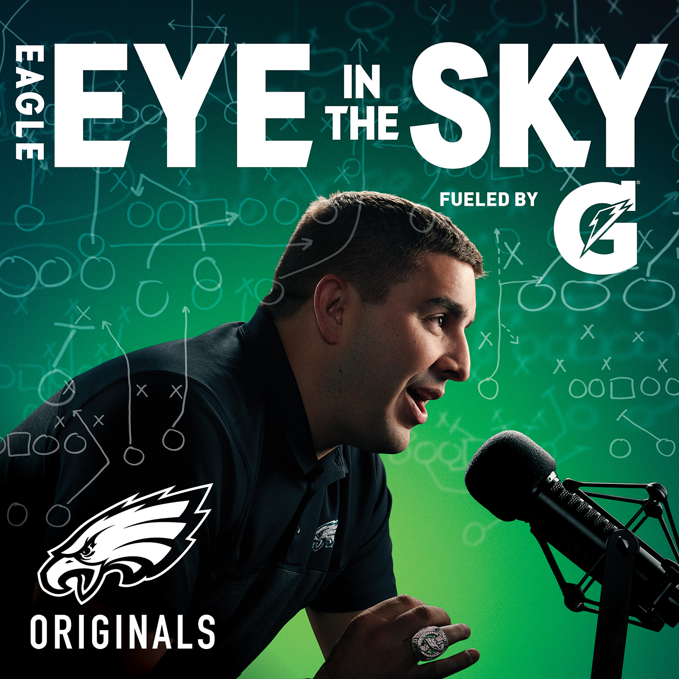 photo relating to Philadelphia Eagles Printable Schedule identified as Eagle Eye Inside of The Sky Podcast Hear as a result of Scher for Podcasts